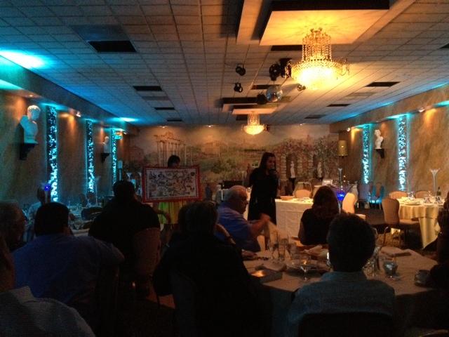 My Sicily presentation at the Italian American Brotherhood Club