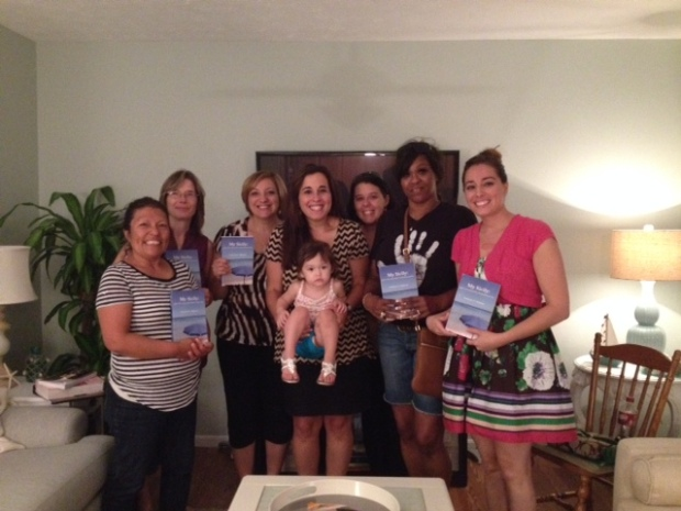 Author Francesca Mignosa with Women's Group of House of Praise International for an evening of My Sicily/Interfaith dialogue!
