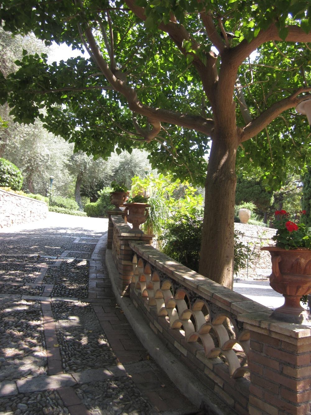 Villa Comunale,  Taormina, Sicily  {Copyright Francesca Mignosa}