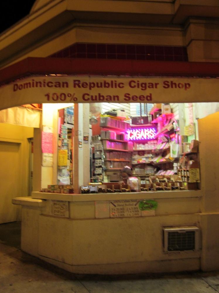 Cuban cigar shops in Key West  {Copyright Francesca Mignosa}